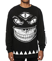 Popaganda x Mishka 3rd Eye Grin Long Sleeve T-Shirt