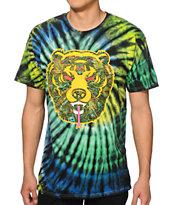 Popaganda x Mishka Death Adder Fill Tie Dye T-Shirt