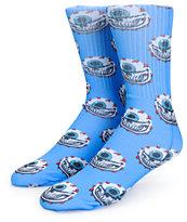 Popaganda x Mishka Eyeball Grin Crew Socks