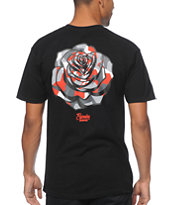 Popular Demand Blok Camo Rose Tee Shirt