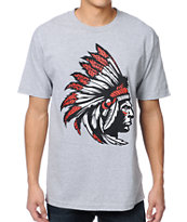 Popular Demand Chief Grey Tee Shirt