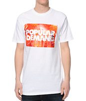 Popular Demand Fire Box White T-Shirt