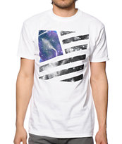 Popular Demand Galaxy Square Flag T-Shirt