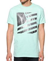 Popular Demand Lightning Square Flag T-Shirt