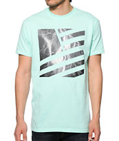 Popular Demand Lightning Square Flag Tee Shirt