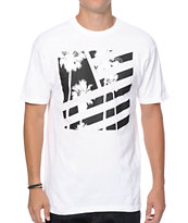 Popular Demand Palms Square Flag T-Shirt