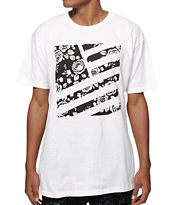 Popular Demand Rosa Square Flag T-Shirt