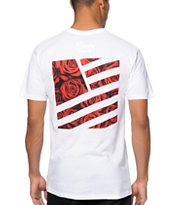 Popular Demand Rose Square Flag Tee Shirt