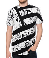 Popular Demand Take Over Rose Flag Tee Shirt