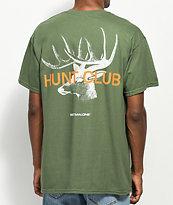 Post Malone Stoney Big Buck Hunt Club Green T-Shirt