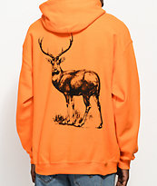 Post Malone Stoney Big Buck Hunt Club Orange Hoodie