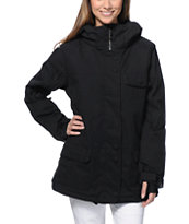 Powder Room Vow Black 10K 2014 Snowboard Jacket
