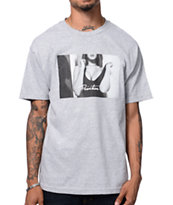 Primitive After Party Heather Grey Tee Shirt