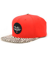 Primitive Beasts Red Strapback Hat