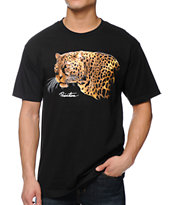 Primitive Big Cat Black Tee Shirt