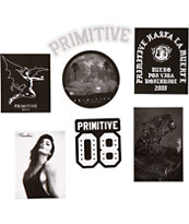 Primitive Black Pack Sticker Pack