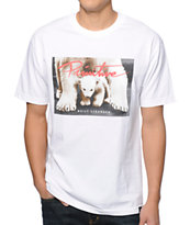 Primitive Built Stronger White Tee Shirt