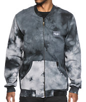 Primitive Canyon Tie Dye Zip Up Fleece Jacket