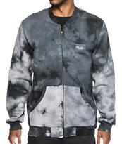 Primitive Canyon Tie Dye Zip Up Fleece Jacket