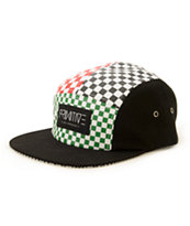 Primitive Chex 5 Panel Hat