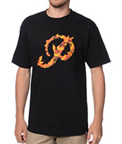 Primitive Classic P Leaves Black Tee Shirt