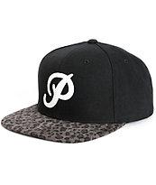 Primitive Classic P Leopard Snapback Hat