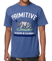 Primitive Cultivated Blue Tee Shirt