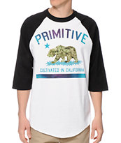 Primitive Cultivated Lights Baseball Tee