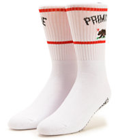 Primitive Cultivated White Crew Socks
