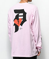 Primitive Dirty P Crush Pink Long Sleeve T-Shirt