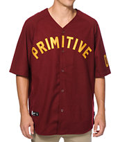 Primitive Fielder Baseball Jersey