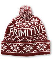 Primitive Frost Pom Beanie