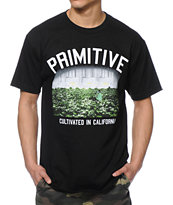 Primitive Garden Black Tee Shirt