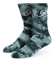 Primitive Good For Life Classic P Tie Dye Crew Socks
