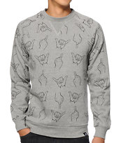 Primitive HLFU Crew Neck Sweatshirt