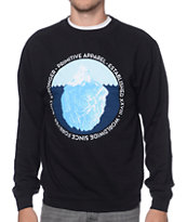 Primitive Iceberg Seal Black Crew Neck Sweatshirt