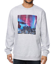 Primitive LA City Lights Crew Neck Sweatshirt