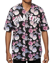 Primitive League Rose Noir Baseball Jersey