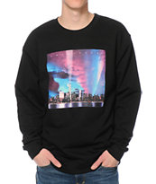 Primitive NY City Lights Crew Neck Sweatshirt