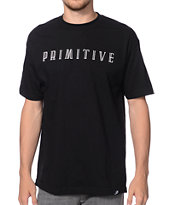 Primitive New Wave Black Tee Shirt