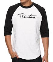 Primitive Nuevo Baseball T-Shirt
