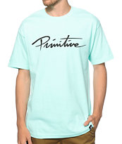 Primitive Nuevo Script T-Shirt