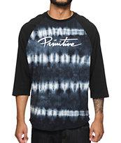 Primitive Nuevo Tie Dye Baseball T-Shirt