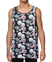 Primitive Rose Noir Tank Top
