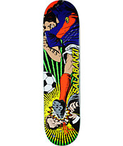 "Primitive Salabanzi Red Card 8.0"" Skateboard Deck"