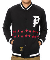 Primitive Salute Fleece Varsity Jacket