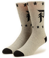 Primitive Salute Grey Crew Socks