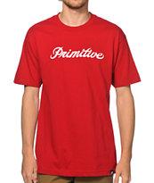 Primitive Signature Script T-Shirt