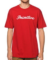 Primitive Signature Script Tee Shirt