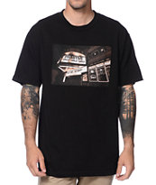 Primitive Sinner Boulevard No Pipe Black Tee Shirt